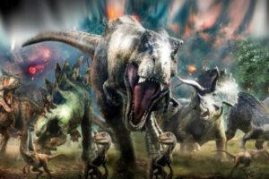I dinosauri arrivano a Napoli, alla Mostra d'Oltremare il Tyrannosaurus Rex e il Triceratops