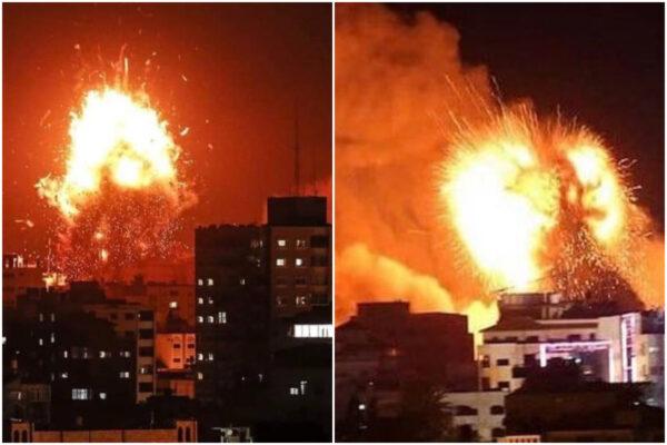 Gaza, diluvio di fuoco nella notte: Israele attacca con missili e carri armati, 115 morti