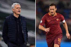"""Totti e Mourinho, quando il 'Pupone' disse dello Special One: """"Mi piacerebbe lavorare con lui"""""""