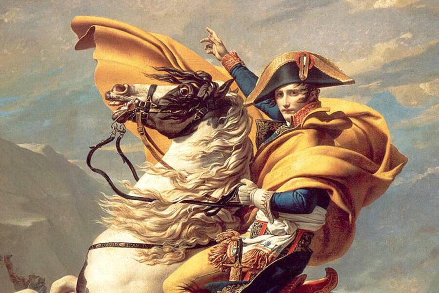 Napoleone, Giulio Cesare e il consulente strategico