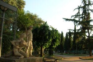 Nuovo look per il parco del Quadraro: riqualificata l'area verde