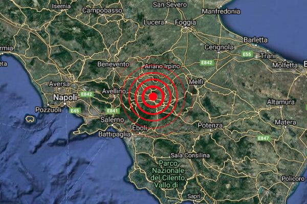 Terremoto, scossa di magnitudo 2.9 nell'Avellinese. Sciame sismico a Gubbio