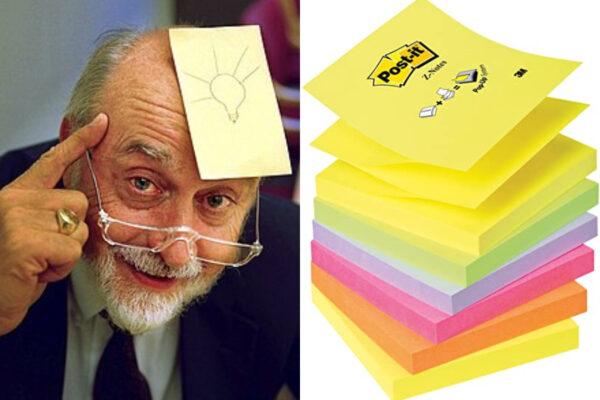 """Chi era Spencer Silver, l'inventore dell'adesivo dei Post-it: storia di una scoperta nata """"per errore"""""""