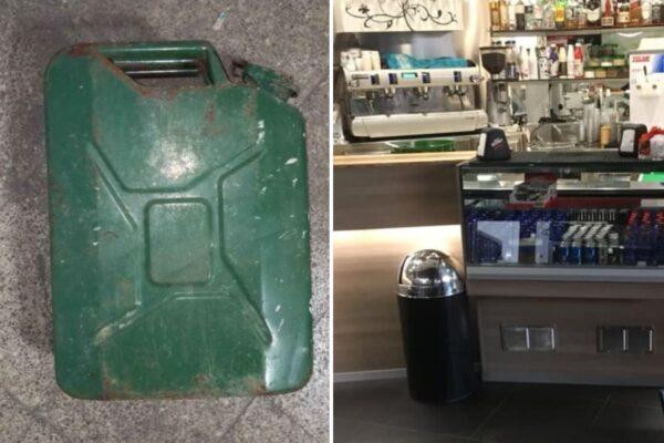 """""""O paghi o ti bruciamo il bar"""", tentano l'estorsione appoggiando una tanica di benzina sul bancone"""