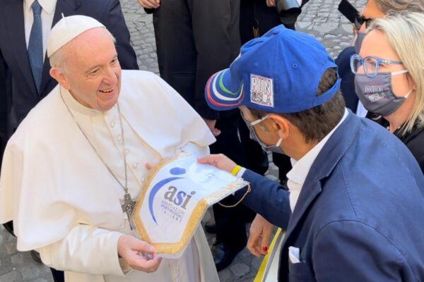 Papa Francesco e la Run for Sla
