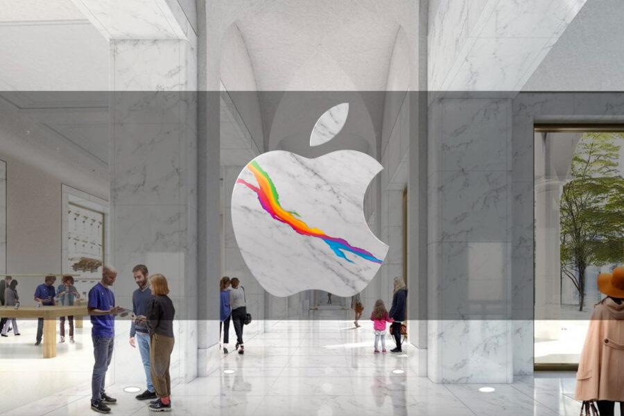 Roma, a via del Corso il nuovo Apple Store: la mela arriva nel cuore della Capitale
