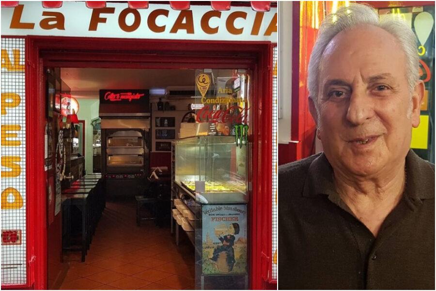È morto Don Ciro Caccavallo, il proprietario della Focaccia di Chiaia stroncato da un infarto