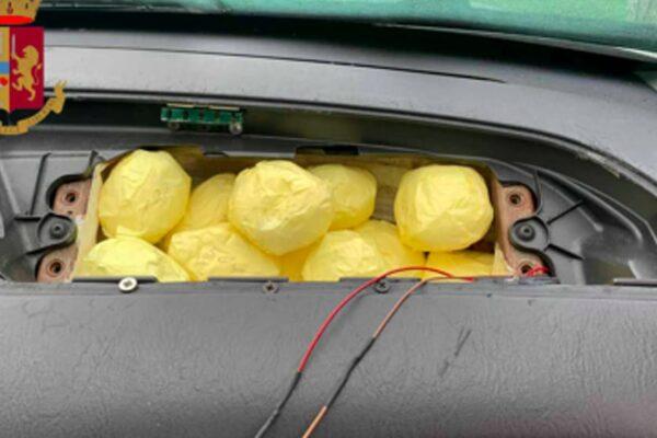 Droga nascosta nell'airbag: i nuovi trucchi dello spaccio a Roma