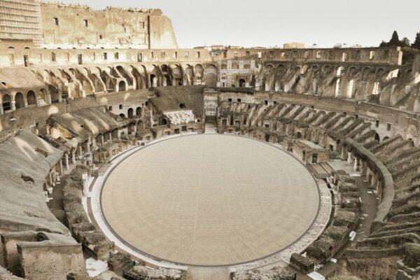 Al Colosseo torna l'arena: ecco come sarà