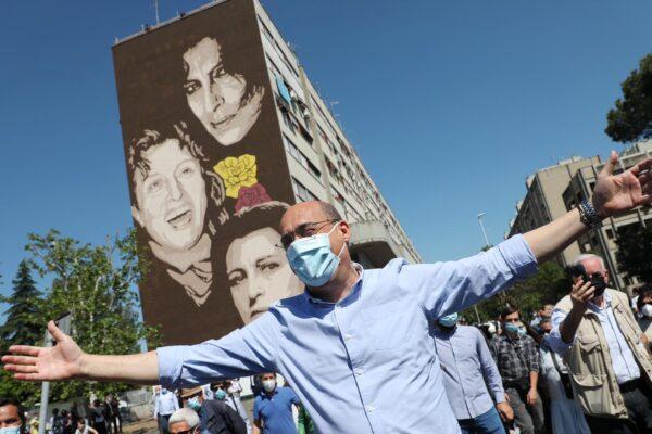 Zingaretti inaugura il murales