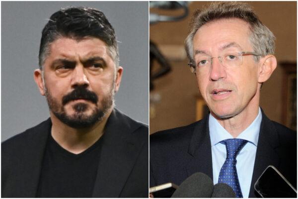 Gattuso dà una lezione a Manfredi: mai alzare bandiera bianca