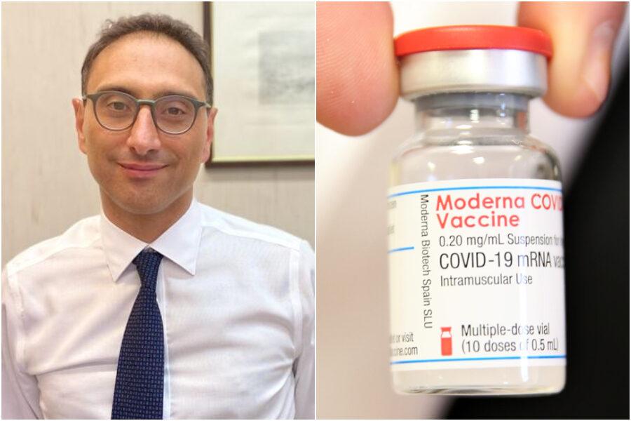 """Effetti collaterali del vaccino Moderna, l'infettivologo: """"Niente paura, se si presentano passano subito"""""""