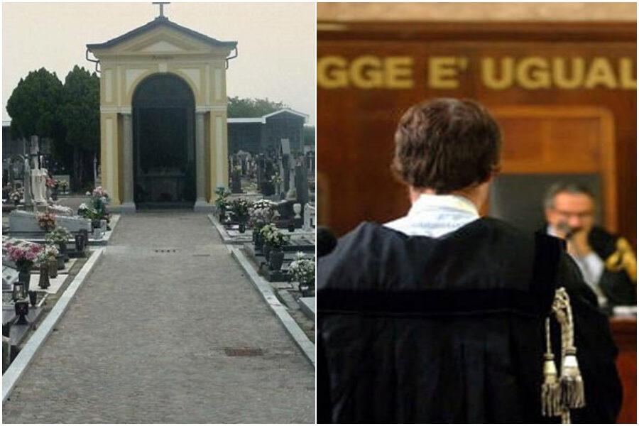 Resti della figlia scomparsi dal cimitero, giudice condanna i genitori (che chiedevano risarcimento…)