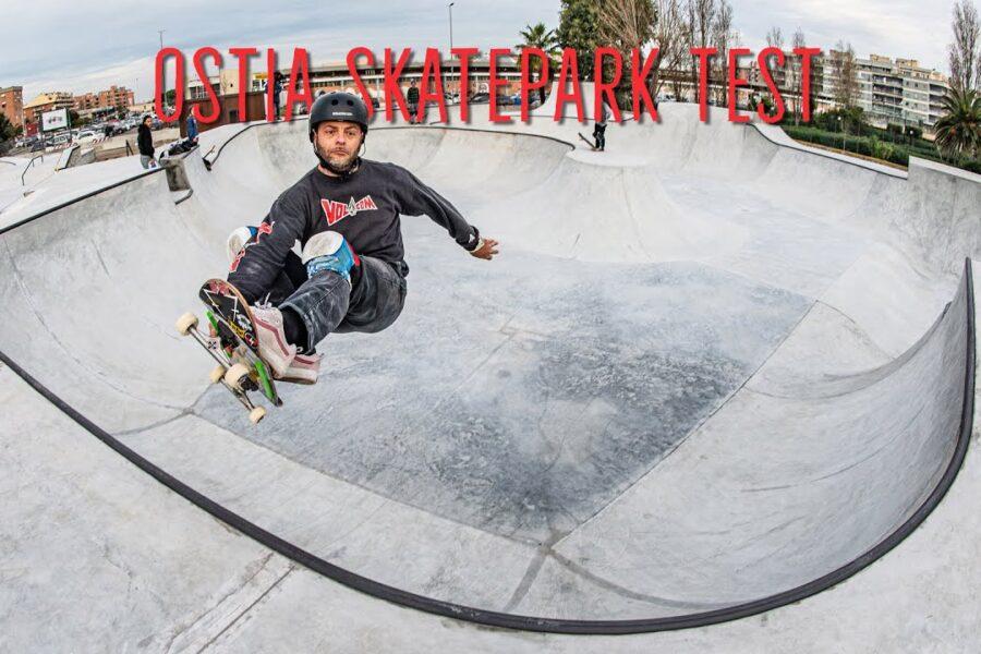 Roma sale sulla tavola: a Ostia inaugurato lo Skate park