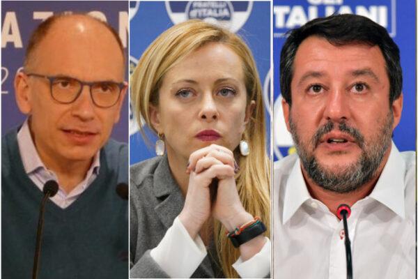 Fratelli d'Italia scavalca il PD e tallona la Lega di Salvini: il 'terremoto' politico nel sondaggio SWG