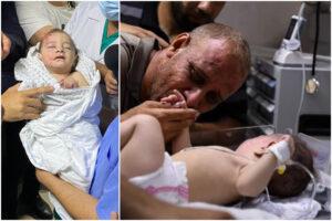 Il piccolo Omar, unico superstite al bombardamento che ha ucciso intera famiglia