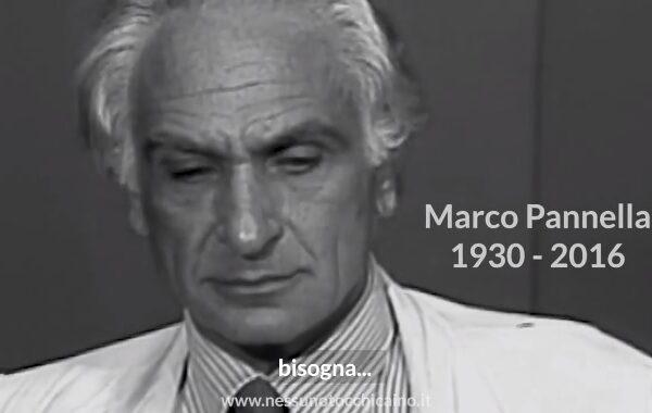 """Nessuno tocchi Caino lancia uno spot su Marco Pannella per la campagna """"Compresenza"""""""