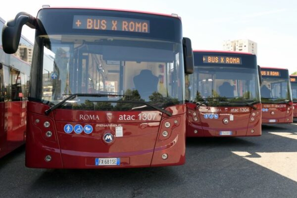 Atac, ecco i nuovi bus per Roma