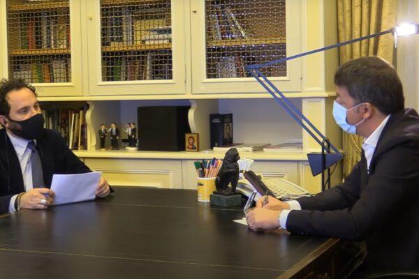 """Caso Report, Renzi pubblica l'intervista integrale: """"Mai messo bocca sulle nomine dei Servizi"""""""