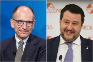 L'unica idea di Enrico Letta è quella di imitare Matteo Salvini…
