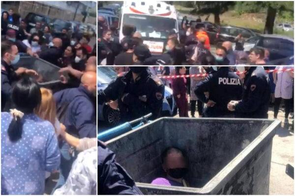 """""""E' un pedofilo, abusi sui tre figli"""", uomo linciato e gettato in un cassonetto a Scampia"""