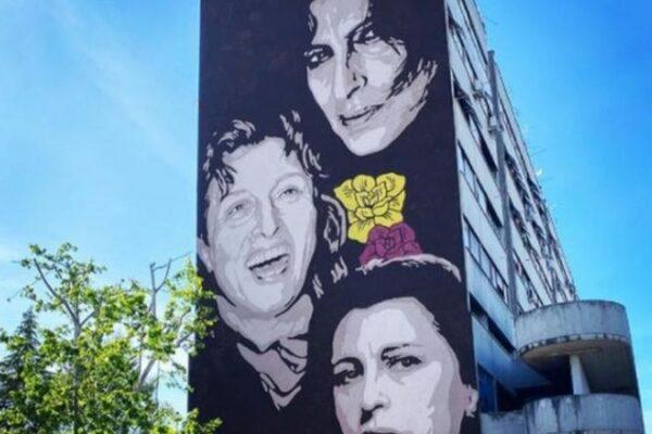 Il murales per Anna Magnani