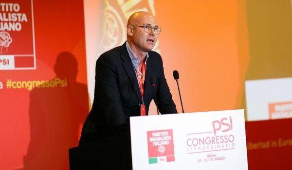 Andrea Silvestrini, segretario romano PSI