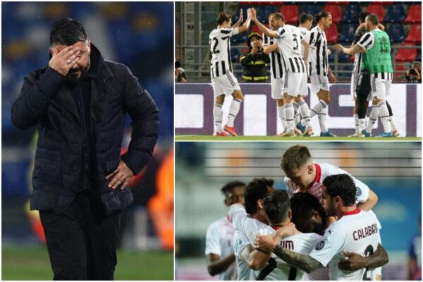 Com'è finita la Serie A 2020/2021: Juventus e Milan in Champions, Napoli fuori