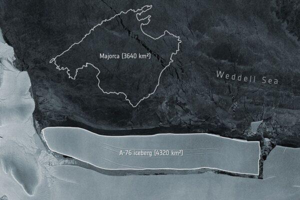Si è staccato dall'Antartide l'iceberg più grande al mondo: è grande quanto il Molise