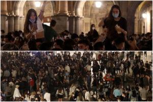 """Fine stato di emergenza, la Spagna festeggia il suo Capodanno: """"In strada senza essere delinquenti"""""""