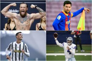 Chi sono gli sportivi più pagati al mondo: da McGregor a Kevin Durant, la top 10 dei 'paperoni'