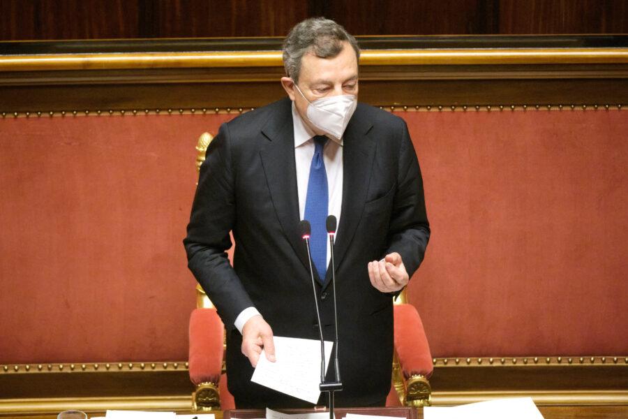 """Draghi scomunica il Vaticano: """"Ddl Zan? L'Italia è laica"""""""
