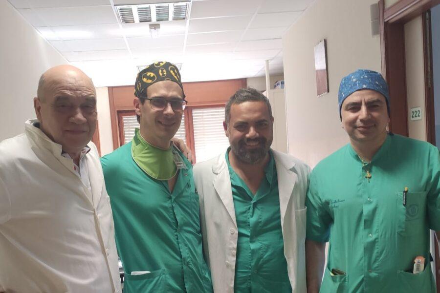 """Paziente tetraspastico non utilizzerà più il catetere, l'intervento al Fatebenefratelli di Benevento: """"Piangeva di gioia"""""""