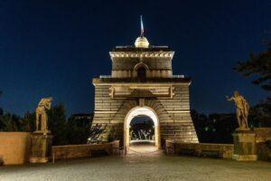 Ponte Milvio, nuova luce per valorizzare la torretta del Valadier