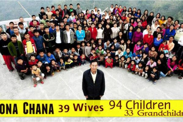 Morto l'uomo che ha la famiglia più numerosa al mondo, lascia 39 mogli, 94 figli e 33 nipoti