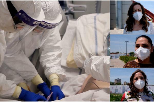 """I reparti Covid dell'Ospedale del Mare iniziano a chiudere: """"Ci portiamo ancora dentro il dolore dei malati"""""""