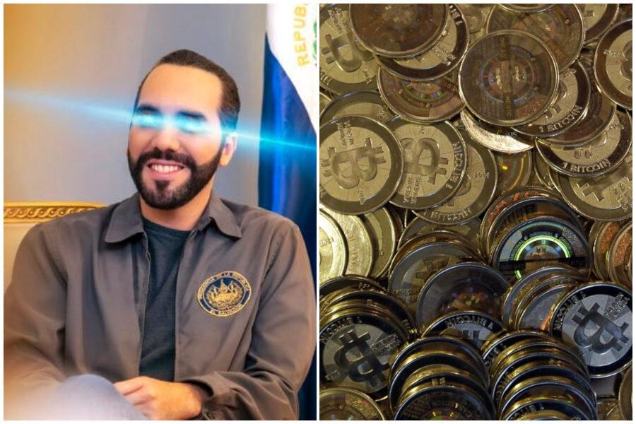 Bitcoin, El Salvador è il primo Paese al mondo ad adottarlo come valuta legale