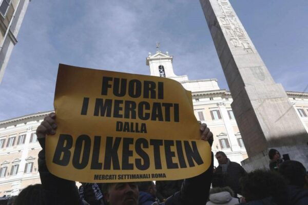 """Elezioni Roma, sulla Bolkestein il centrodestra dice no: """"Siamo tutti con Michetti"""""""