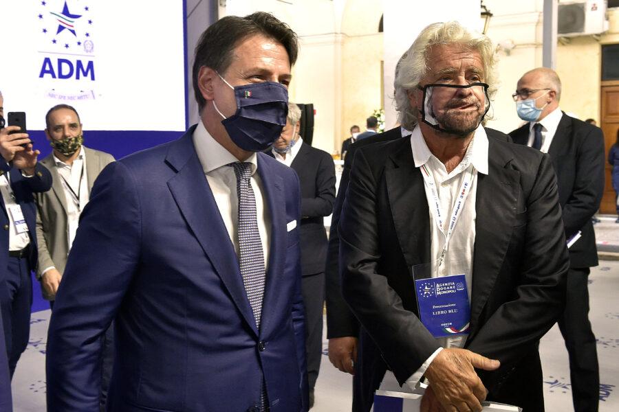 Grillo si precipita a Roma, il partito di Conte non gli va giù…