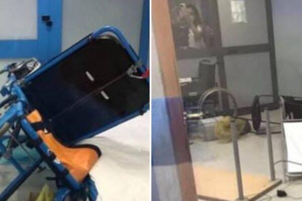 Paziente portato in ospedale si alza e devasta il pronto soccorso: sputi e spintoni contro i medici
