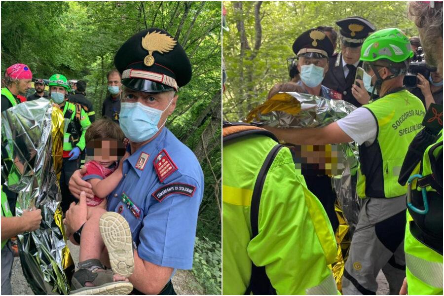 """Nicola ritrovato nei boschi, il carabiniere che lo ha recuperato: """"Mi ha detto 'mamma' e ho pianto"""""""