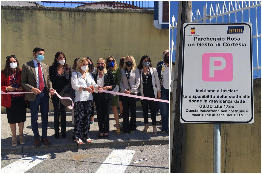Parcheggio rosa, al Tribunale di Napoli posti riservati per avvocatesse incinta