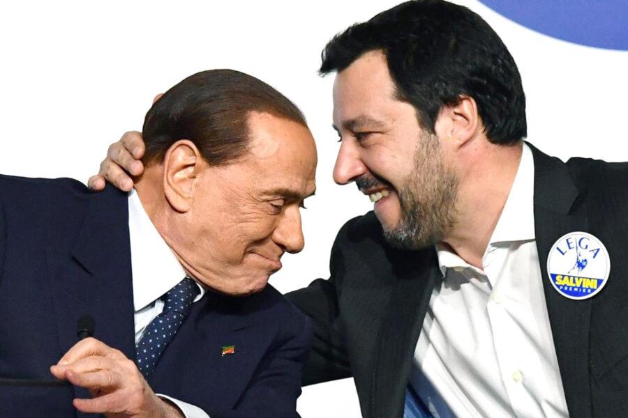 Per non farsi mangiare dalla Meloni, Salvini prova a mangiarsi Forza Italia