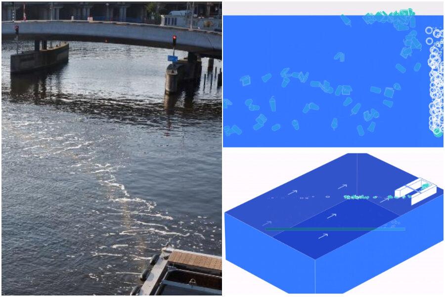 Arriva Bubble Barrier, l'ostacolo per i rifiuti di plastica per gli oceani più puliti