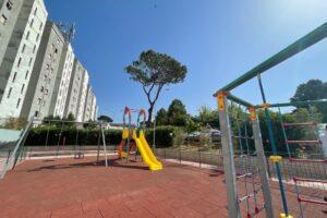 Il nuovo parco a Spinaceto