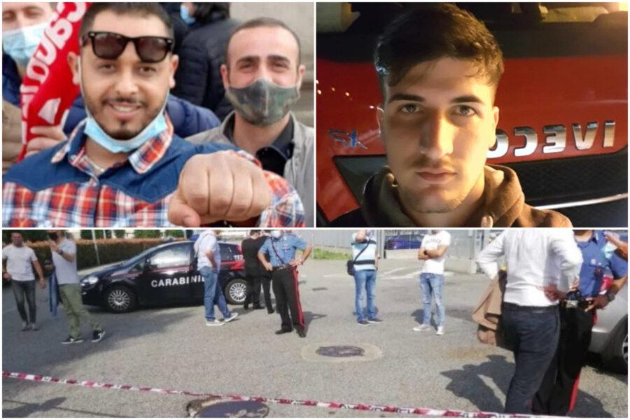 """""""E' successo un casino"""", la telefonata del camionista all'amico poliziotto dopo l'omicidio di Adil Belakhdim"""