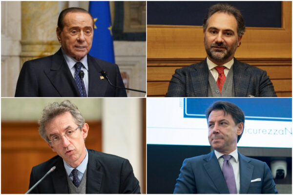 Conte e Berlusconi smascherano Manfredi e Maresca