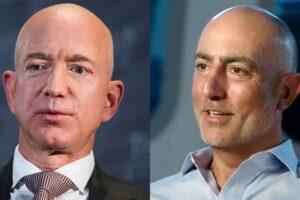 Jeff e Mark Bezos