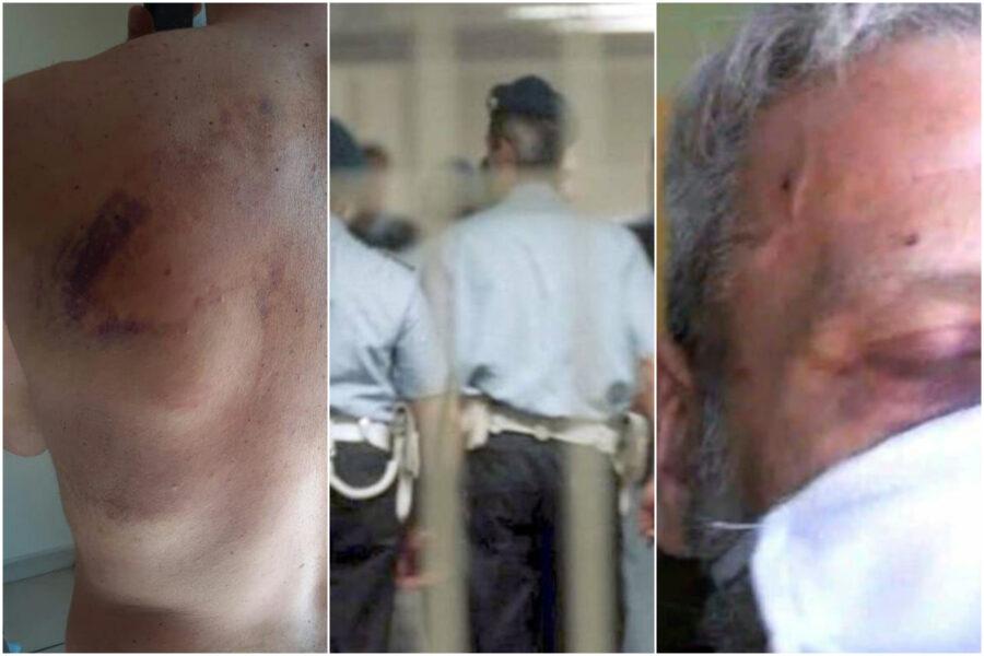 """""""Li abbattiamo come vitelli"""", le chat degli agenti prima della 'orribile mattanza' in carcere coperta da false accuse"""