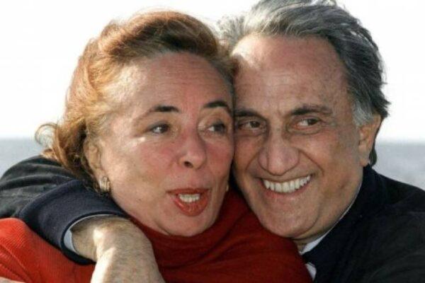 """E' morta Diana de Feo, moglie di Emilio Fede: """"Domani avremmo dovuto festeggiare i miei 90 anni"""""""